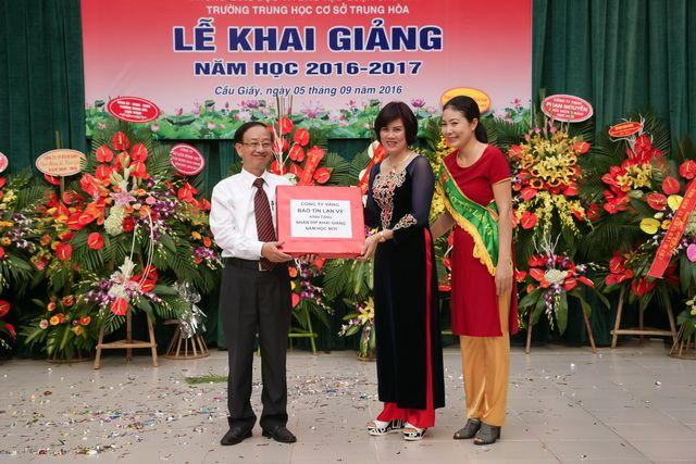 Ngày hội trường 2016, Bảo Tín Lan Vỹ đồng hành cùng hs - sv toàn quốc